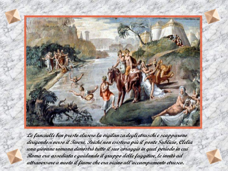 Questa leggenda è l'ultima delle tre legata alla presenza di Porsenna. Con Orazio Coclite si evita la repentina caduta di Roma con Gaio Muzio Scevola