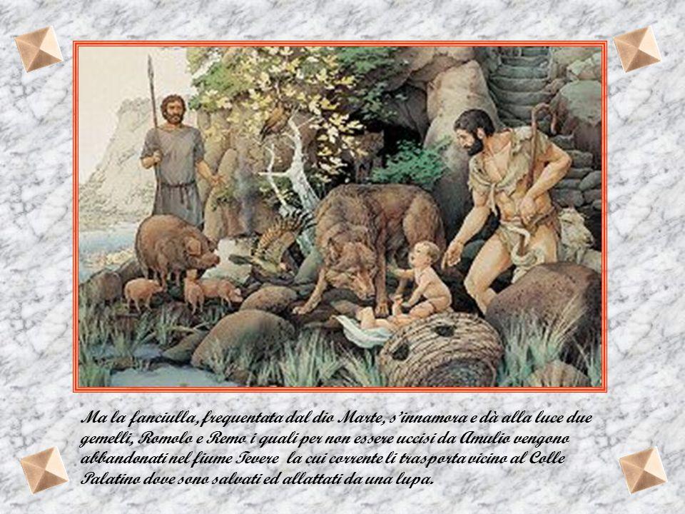 La leggenda narra che Ascanio, figlio di Enea, fondò Albalonga e l'ultimo suo successore, Amulio, impossessatosi del trono sottratto al fratello maggi