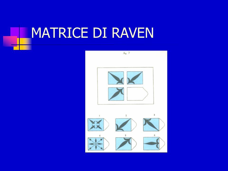 MATRICE DI RAVEN