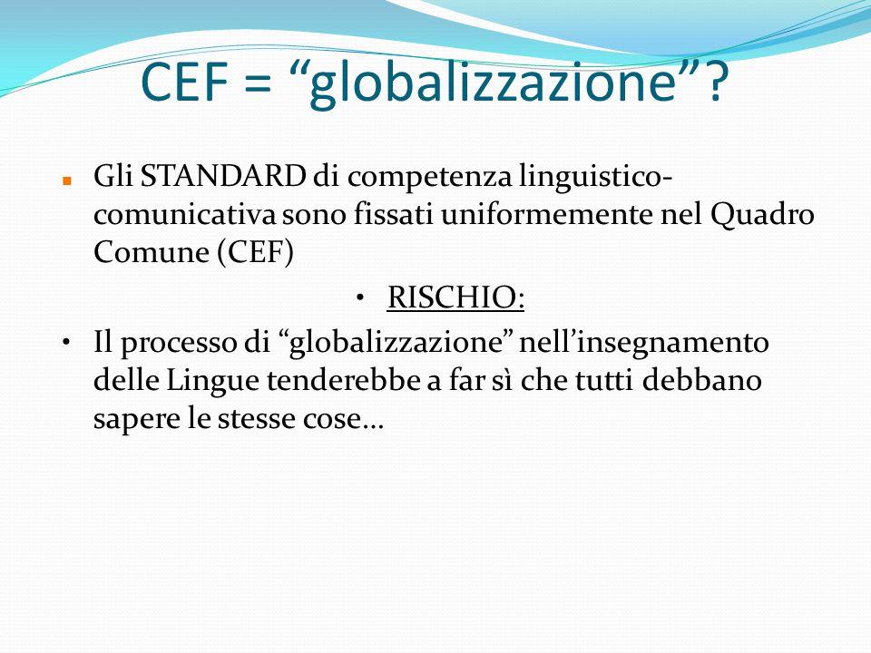 CEF = globalizzazione .