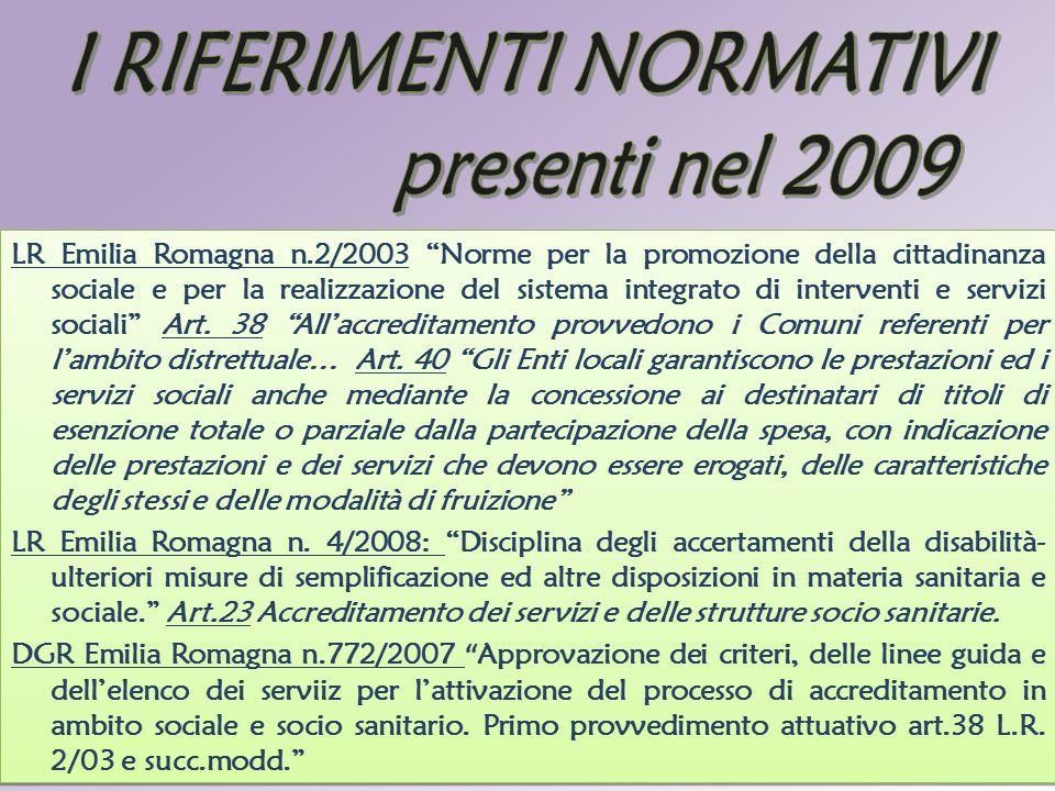"""D.ssa Lucia Bonetti LR Emilia Romagna n.2/2003 """"Norme per la promozione della cittadinanza sociale e per la realizzazione del sistema integrato di int"""