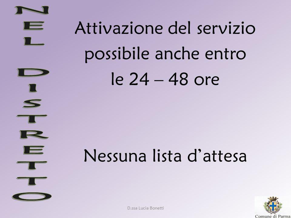 D.ssa Lucia Bonetti Riflessioni…