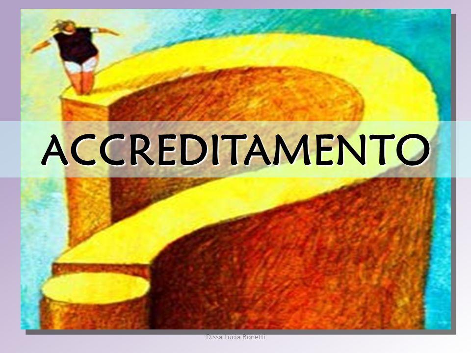 D.ssa Lucia Bonetti ACCREDITAMENTO