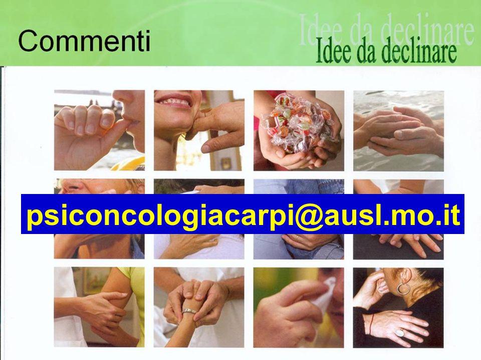 Sondrio 14 - 15 Settembre 2007 psiconcologiacarpi@ausl.mo.it