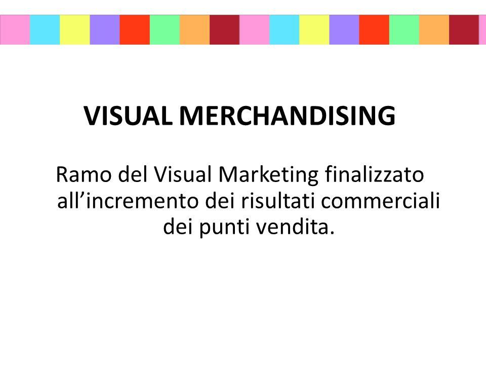 VISUAL MERCHANDISING Ramo del Visual Marketing finalizzato all'incremento dei risultati commerciali dei punti vendita.
