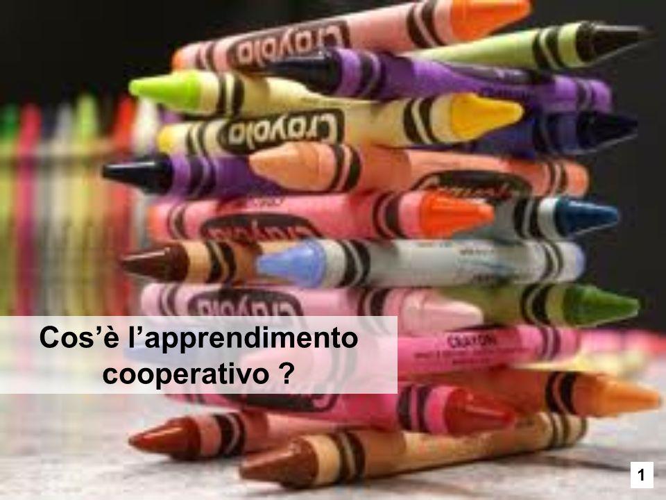 Cos'è l'apprendimento cooperativo ? 1