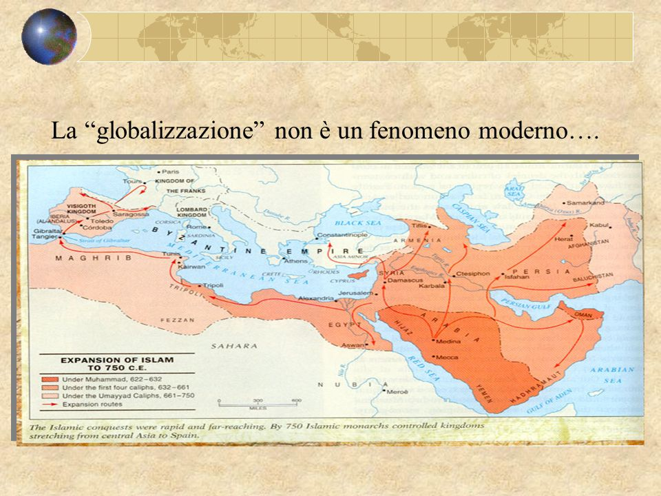 """La """"globalizzazione"""" non è un fenomeno moderno…."""