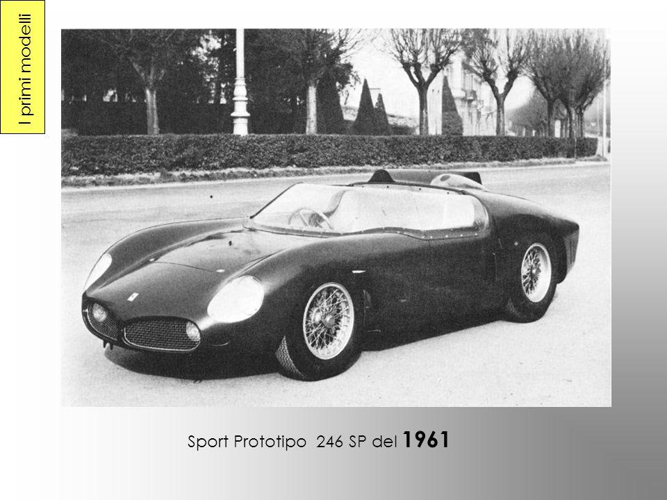 I primi modelli Sport Prototipo 246 SP del 1961