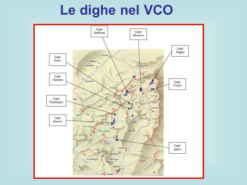 Le dighe nel VCO
