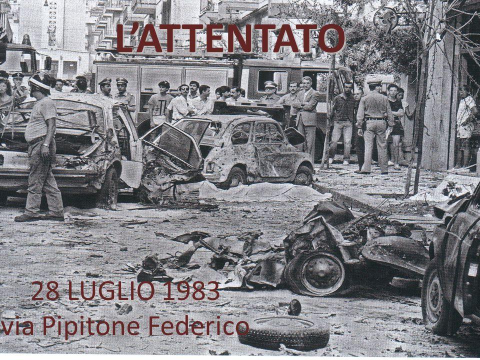 L'ATTENTATO 28 LUGLIO 1983 via Pipitone Federico