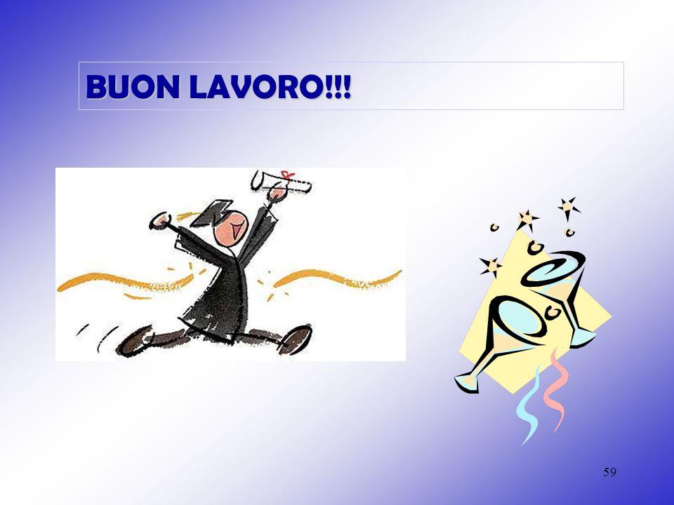 59 BUON LAVORO!!!