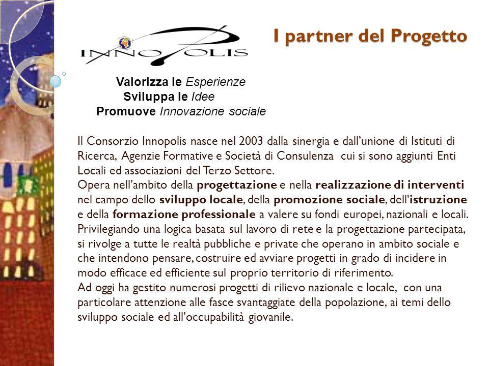 Il Consorzio Innopolis nasce nel 2003 dalla sinergia e dall'unione di Istituti di Ricerca, Agenzie Formative e Società di Consulenza cui si sono aggiu