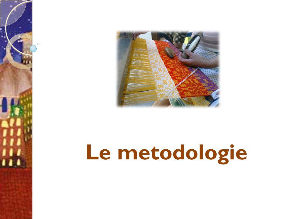 Le metodologie