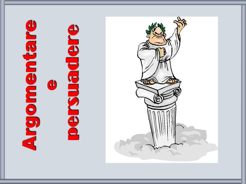 Argomentare e persuadere - francesca meneghetti 2008-9 2 Che cos'è l'argomentazione.