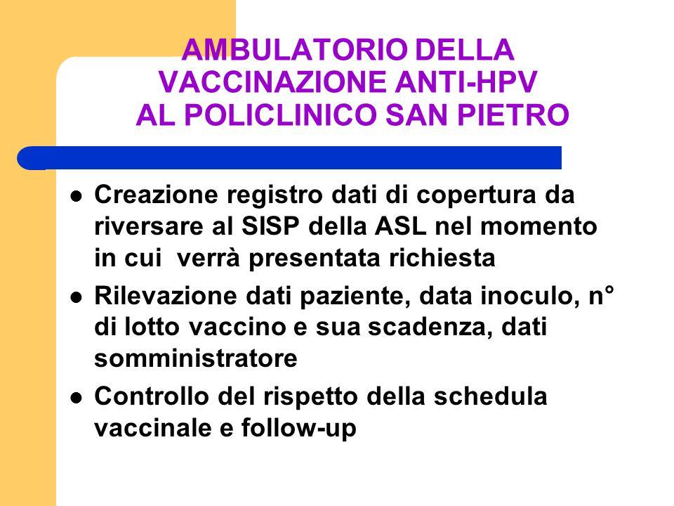 CONCLUSIONI IL VACCINO E' STATO STUDIATO NELLA POPOLAZIONE FEMMINILE FINO AI 45 ANNI CON DATI DI SICUREZZA ED EFFICACIA ESPLICA LA SUA MAGGIORE EFFICACIA SOMMINISTRATO PRIMA DELL'INIZIO DELL'ATTIVITA' SESSUALE (12 ANNI) NON HA AZIONE TERAPEUTICA MA PREVENTIVA NON E' OBBLIGATORIO, MA DOVREBBE ESSERE SEMPRE OFFERTO COME OPPORTUNITA' DI PREVENZIONE PER IL SUO POTENZIALE BENEFICIO CLINICO NELLA RIDUZIONE DELLE RECIDIVE DELLE LESIONI DA HPV GIA' TRATTATE