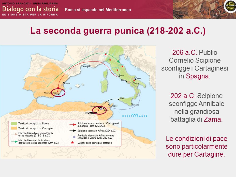 La seconda guerra punica (218-202 a.C.) 202 a.C.
