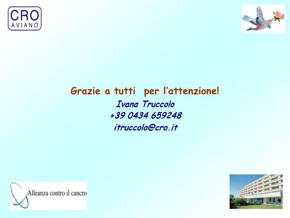 49 Grazie a tutti per l'attenzione! Ivana Truccolo +39 0434 659248 itruccolo@cro.it