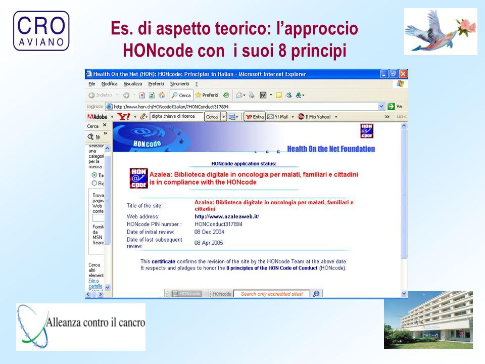 7 Bruxelles, 29.11.2002 COM(2002) 667 definitivo COMUNICAZIONE DELLA COMMISSIONE AL CONSIGLIO, AL PARLAMENTO EUROPEO, AL COMITATO ECONOMICO E SOCIALE AL COMITATO DELLE REGIONI Europe 2002: Criteri di qualità per i siti web contenenti informazioni di carattere medico COMMISSIONE DELLE COMUNITÀ EUROPEE Es.