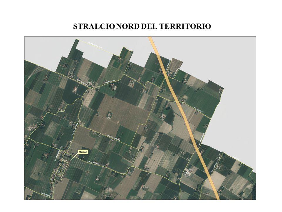 STRALCIO NORD DEL TERRITORIO