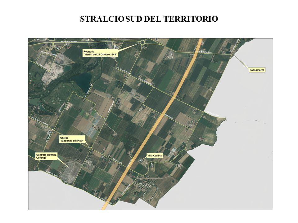 STRALCIO SUD DEL TERRITORIO