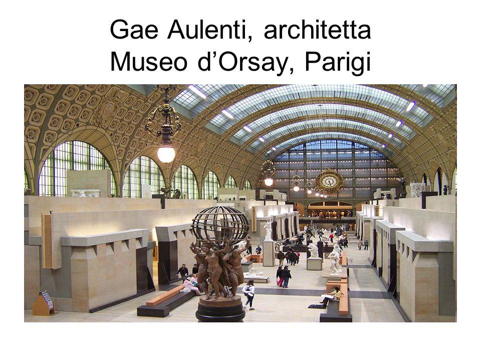 Gae Aulenti, architetta Museo d'Orsay, Parigi