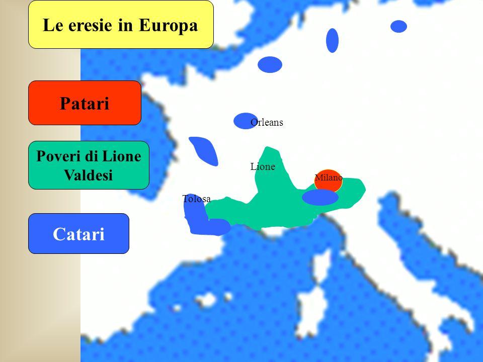 Gherardo Segarelli Verso il 1270 le eresie pauperiste nascevano come funghi La Chiesa allora intimò a molte di queste di rientrare negli Ordini approvati Segarelli e i suoi seguaci si rifiutarono La Chiesa cominciò a combatterli in tutti i modi