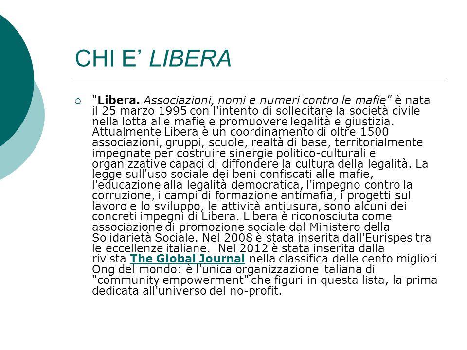 CHI E' LIBERA  Libera.