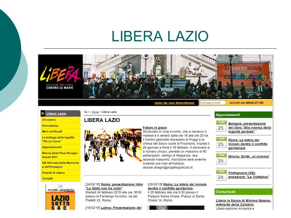 LIBERA LAZIO