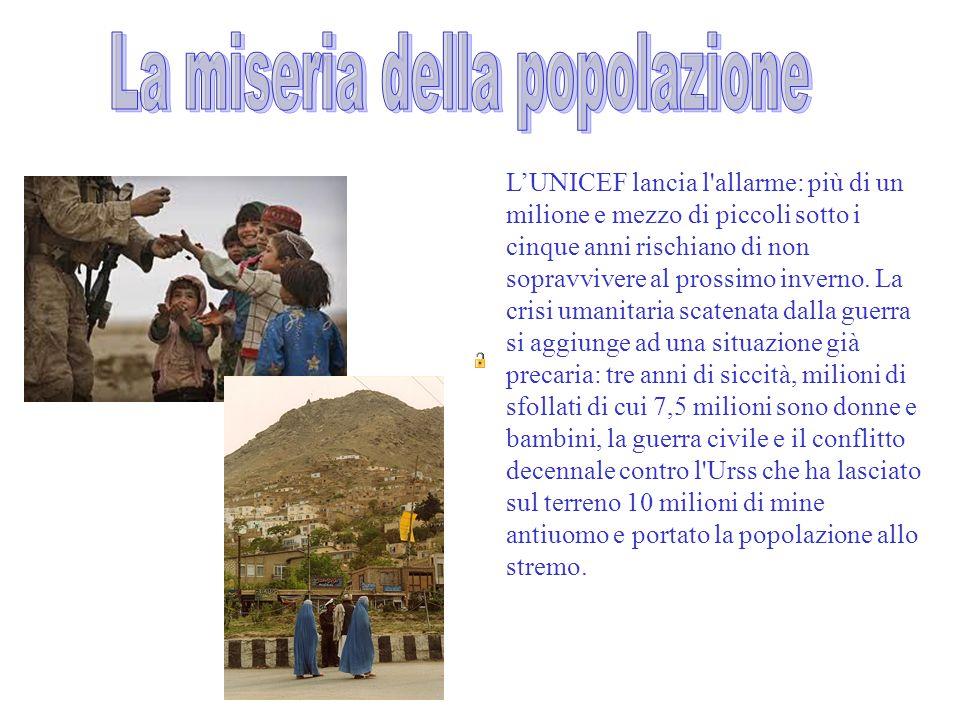 L'UNICEF lancia l'allarme: più di un milione e mezzo di piccoli sotto i cinque anni rischiano di non sopravvivere al prossimo inverno. La crisi umanit