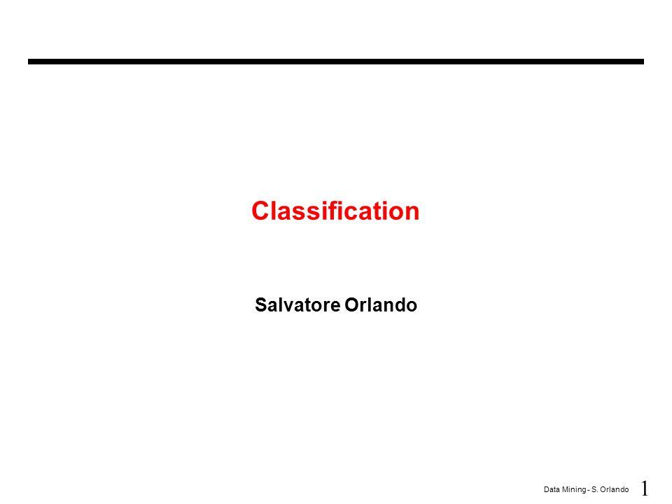 62 Data Mining - S.Orlando Prediction (vs.