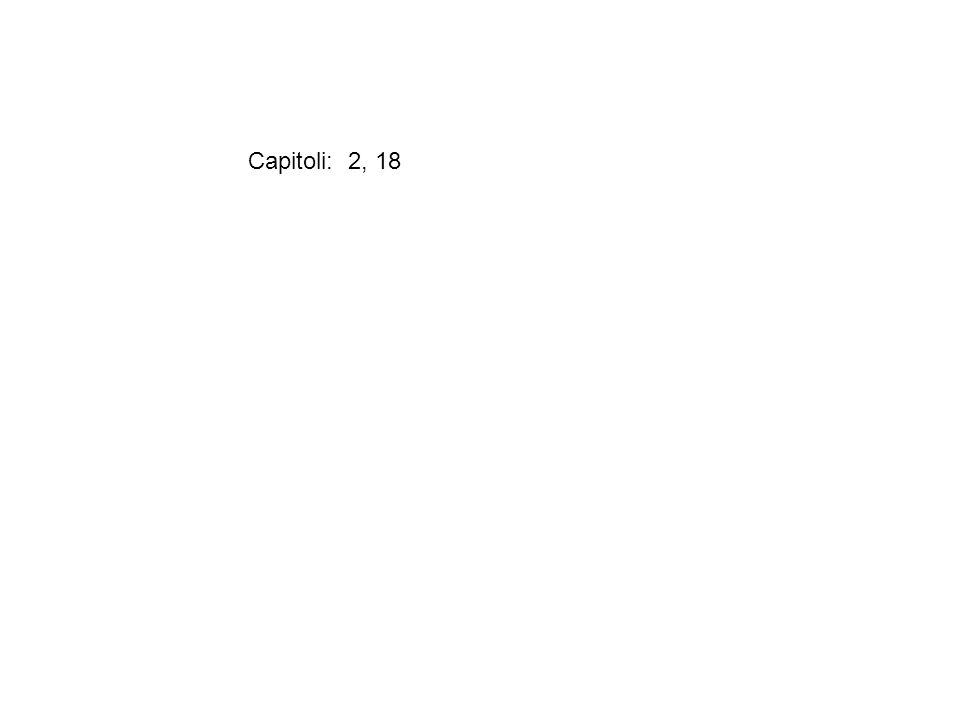 Capitoli: 2, 18