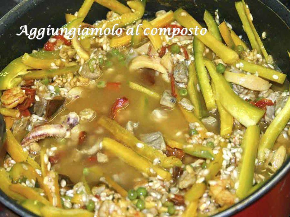 Nel frattempo prepariamo il peperone giallo o verde (è solo per variare il colore del piatto)