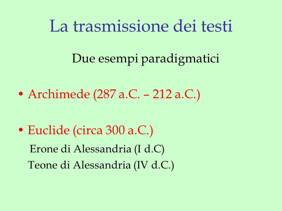 Definizione VI.3 Si dice che una retta è divisa in estrema e media ragione quando l'intera retta sta alla parte maggiore come la parte maggiore sta a quella minore.