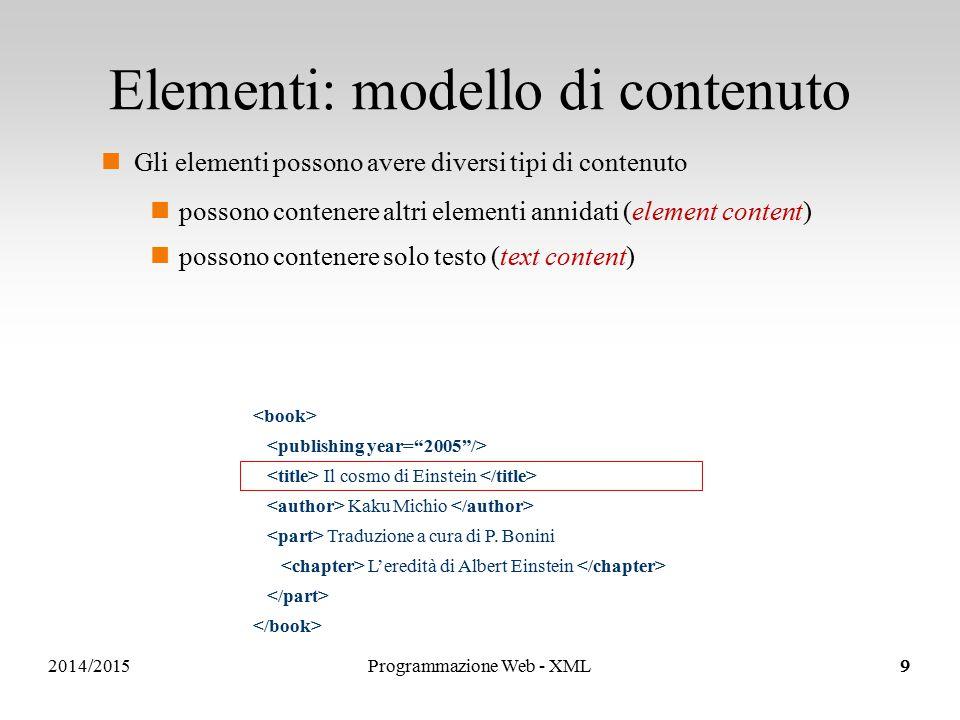 Sistemi Informativi e Servizi..element content..