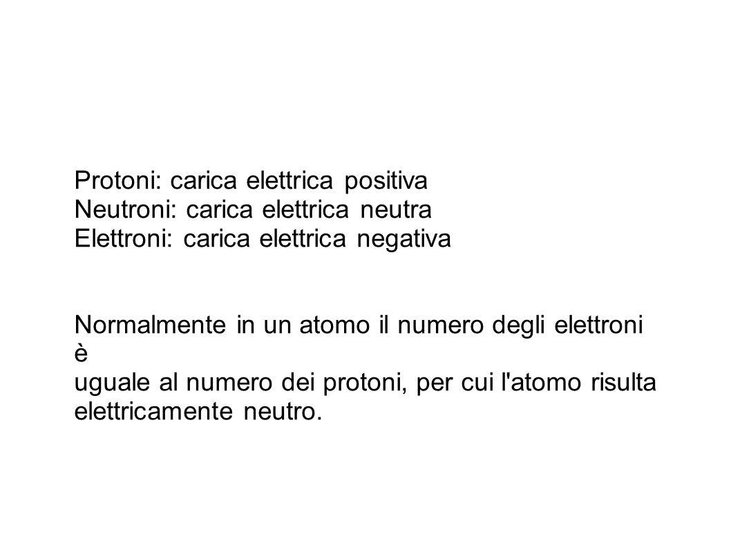 Il numero dei protoni distingue un elemento da un altro; infatti tutti gli atomi di uno stesso elemento hanno lo stesso numero di protoni.