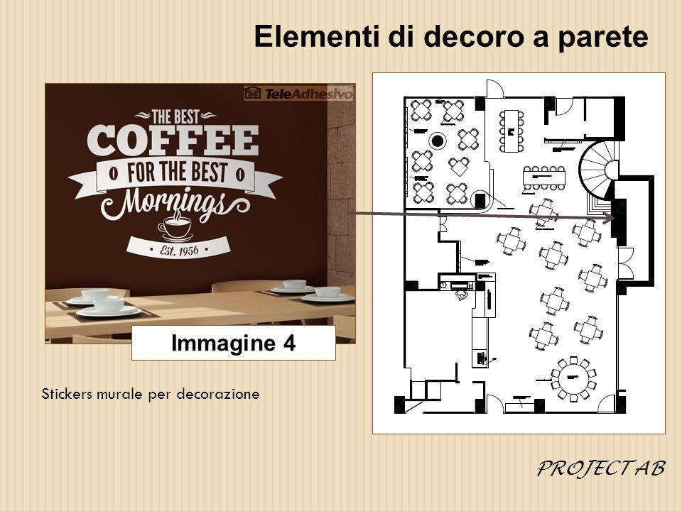 Elementi di decoro a parete Stickers murale per decorazione Immagine 4 PROJECT AB