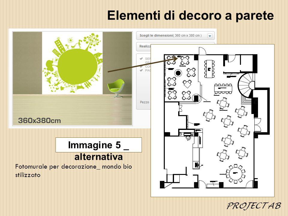 Elementi di decoro a parete Fotomurale per decorazione_ mondo bio stilizzato Immagine 5 _ alternativa PROJECT AB
