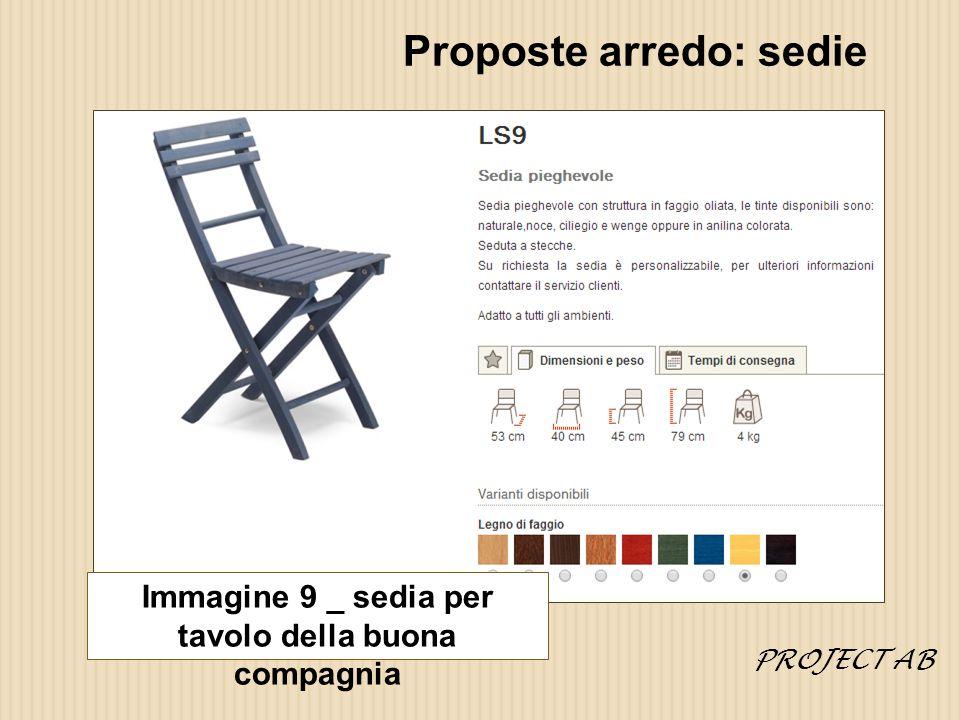 Proposte arredo: sedie Immagine 9 _ sedia per tavolo della buona compagnia PROJECT AB