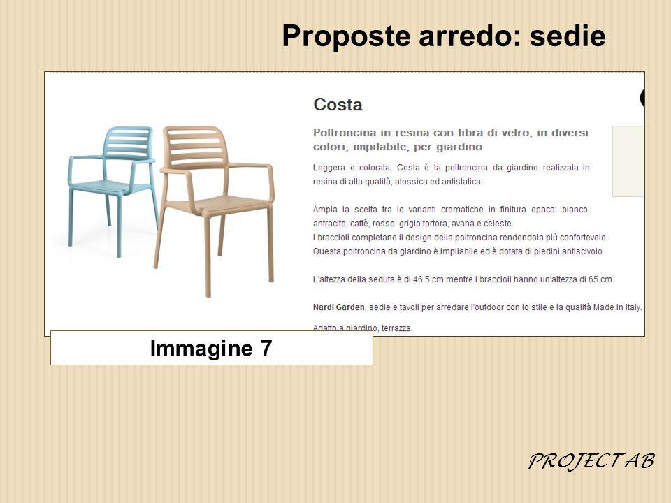 Proposte arredo: sedie Immagine 7 PROJECT AB