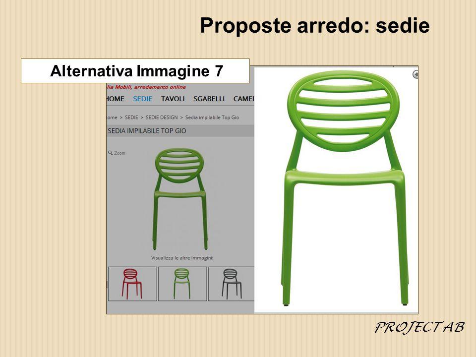 Proposte arredo: sedie Alternativa Immagine 7 PROJECT AB