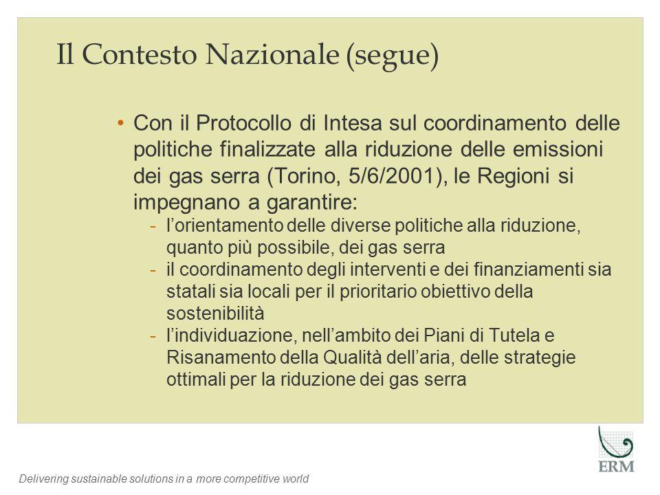 Delivering sustainable solutions in a more competitive world Un Caso Applicativo: Regione Assia Obiettivi Simulate Buil.