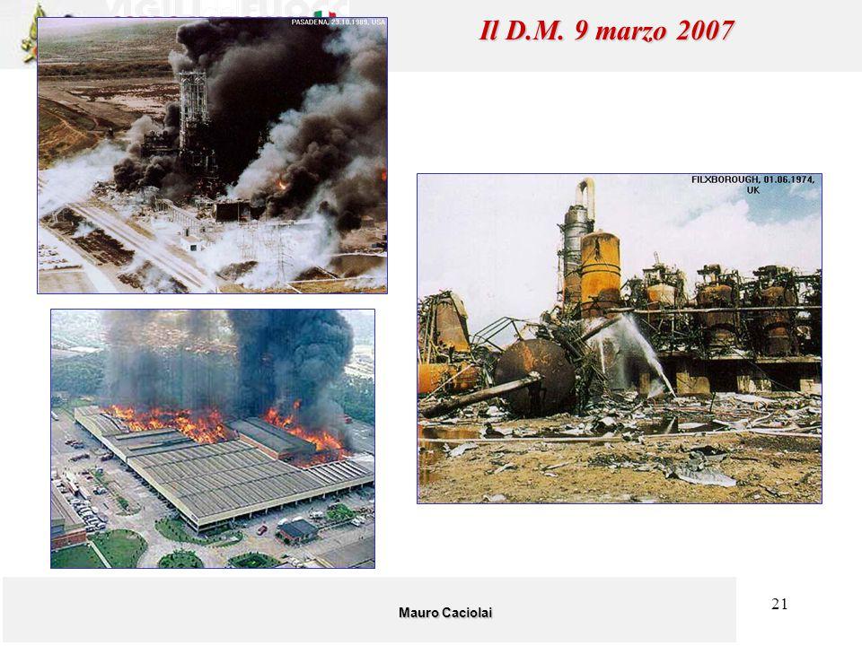 21 Mauro Caciolai Il D.M. 9 marzo 2007