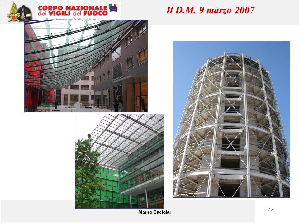 22 Mauro Caciolai Il D.M. 9 marzo 2007