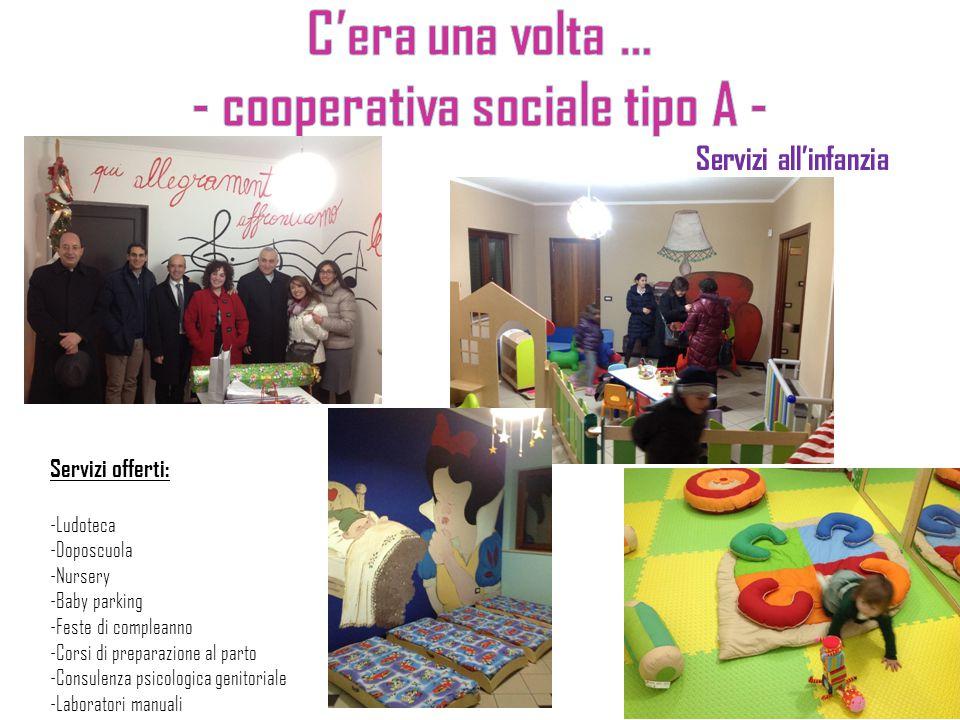 Servizi all'infanzia Servizi offerti: -Ludoteca -Doposcuola -Nursery -Baby parking -Feste di compleanno -Corsi di preparazione al parto -Consulenza ps