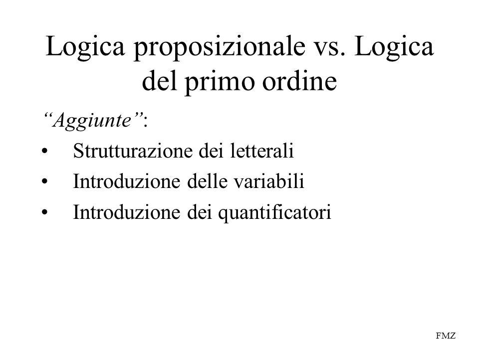 FMZ Logica proposizionale vs.