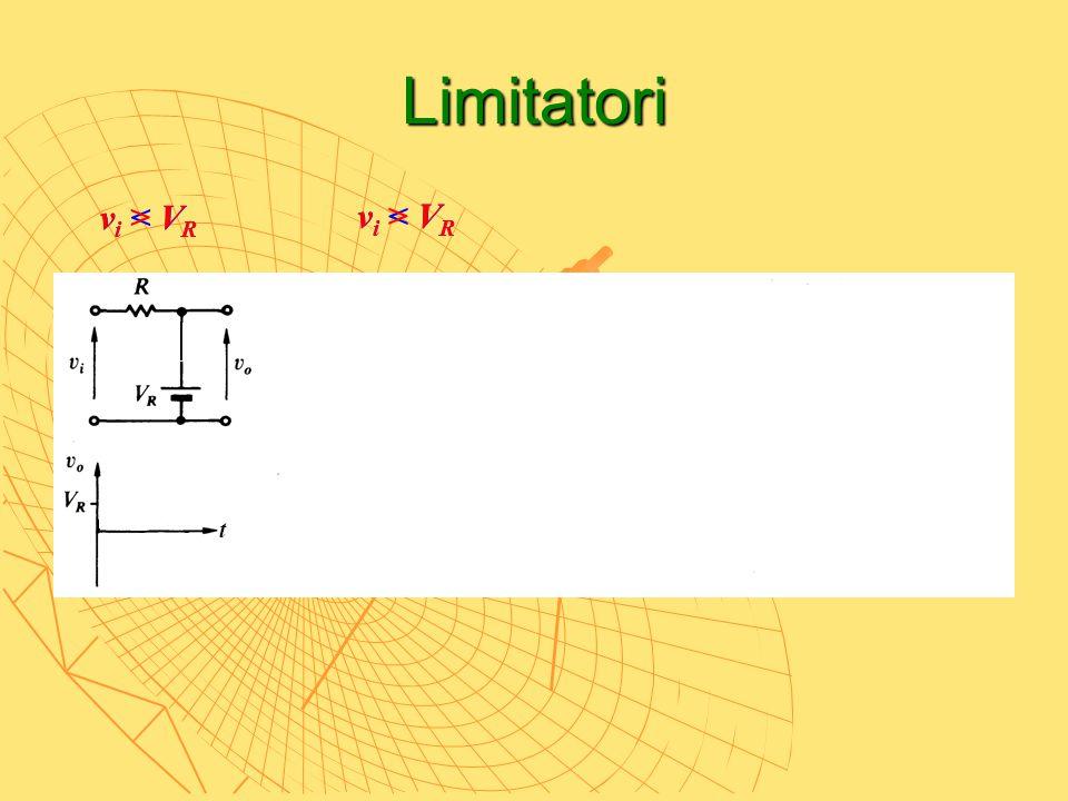 Limitatori v i < V R v i > V R t