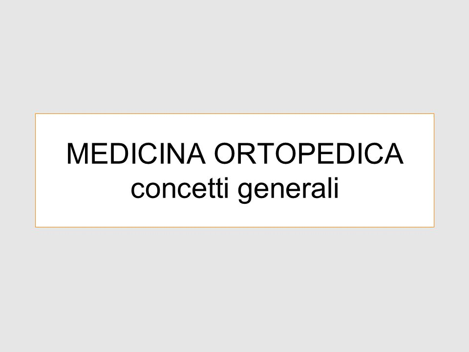 Medicina Ortopedica Termine coniato da James Cyriax (1904-85) che ha avuto molto successo in Europa.