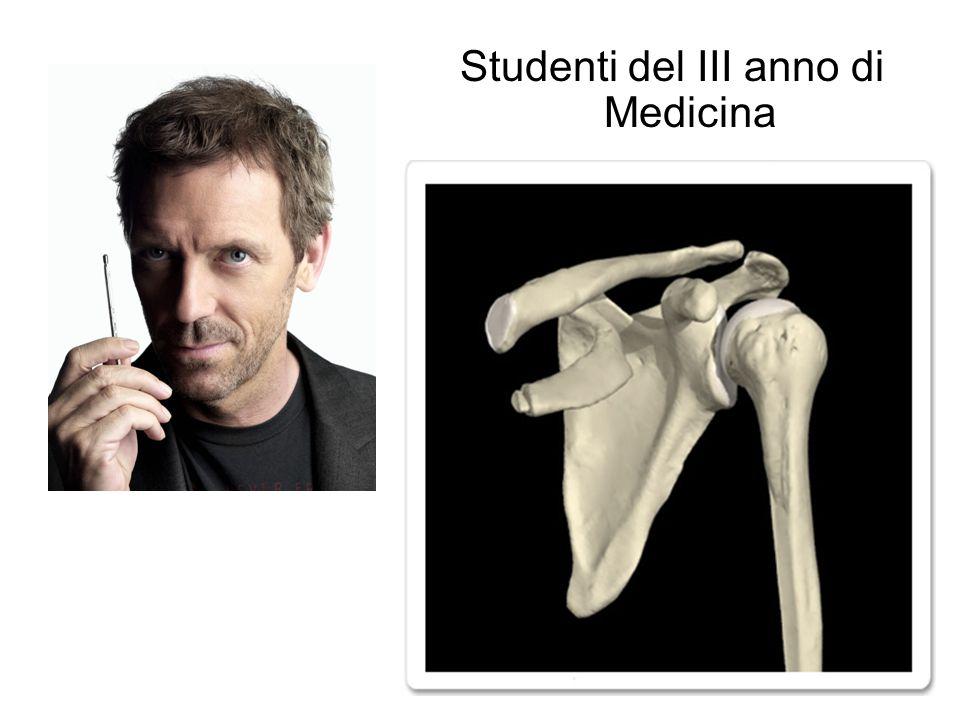 Studenti del III anno di Medicina