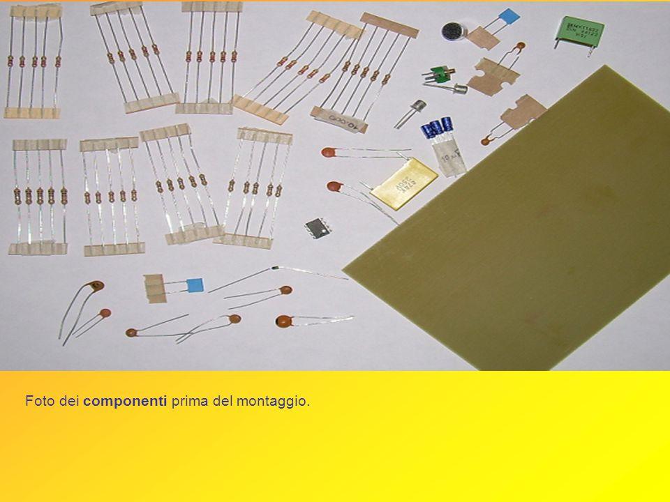 Circuito stampato del microtrasmettitore realizzato al computer con il Circad. Circuito stampato