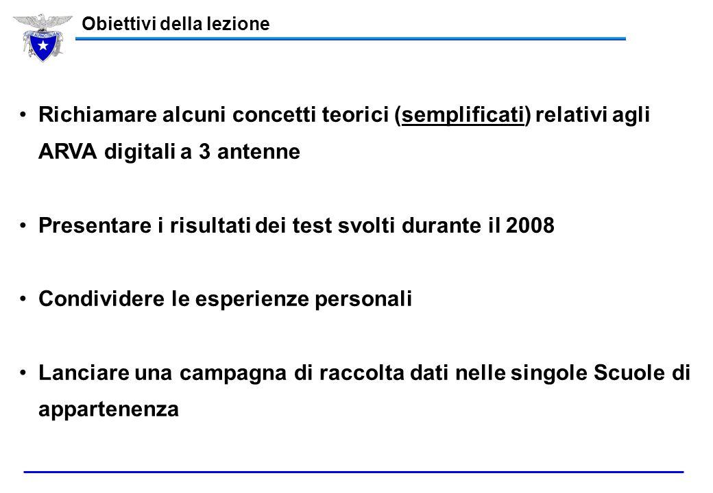 Club Alpino Italiano Commissione Nazionale Scuole di Alpinismo e Sci Alpinismo Scuola Centrale di Sci Alpinismo Aggiornamento ARVA Digitali 3 antenne
